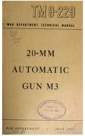 Cover of: 20-MM Automatic Gun M3