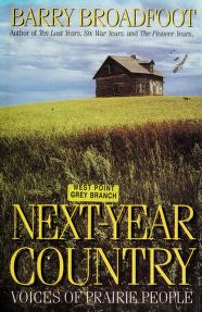 Cover of: Next-year country | Barry Broadfoot
